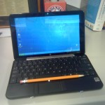 Jack Leblond's new HP 1030nr Net Book